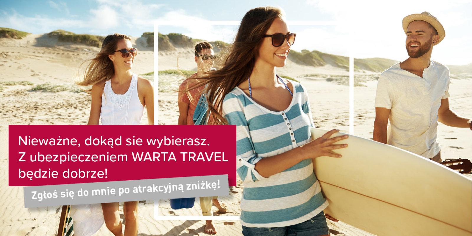 10% zniżki przy zakupie ubezpieczenia Warta Travel